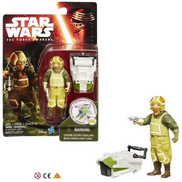 Star Wars The Force Awakens Goss Toowers 3.75 inch Figure 4+ Years